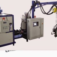 Cyclopetane PU foaming machine