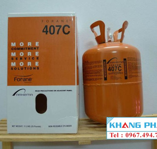 Forane Arkema R407C