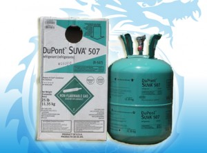 Gas lạnh R507 Dupont Suva