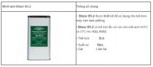 nhớt lạnh Bitzer52