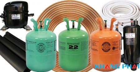 Vật tư điện lạnh dùng cho lắp đặt điều hòa 1