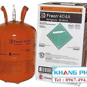 Gas lạnh Freon chemours USA 404A