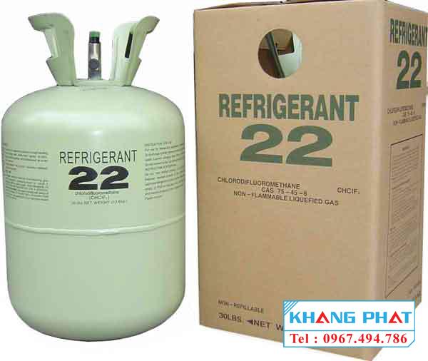 So sánh môi chất lạnh gas R22 và gas R410A 1