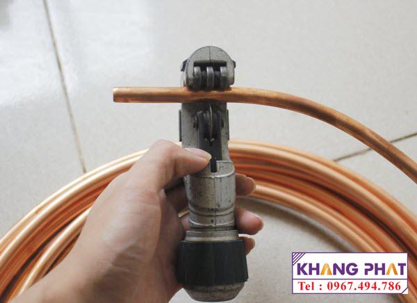 Vật tư lạnh dùng trong lắp đặt điều hòa máy lạnh