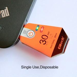 Bộ ghi dữ liệu nhiệt độ USB dùng một lần Elitech URC-12 1