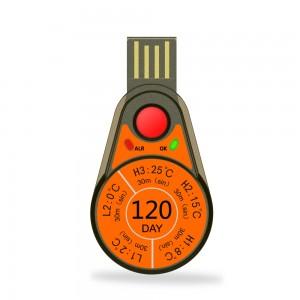 Máy ghi dữ liệu nhiệt độ sử dụng một lần RC-55