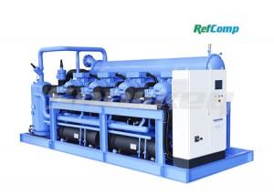Cụm máy nén trục vít bốn cấp Refcomp SW3L bán kín (RW4AHSW3L80-VANA)