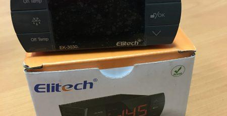 Hướng dẫn sử dụng và cài đặt bộ điều khiển nhiệt độ Elitech EK-3030