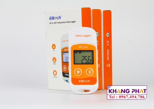 Bộ ghi dữ liệu nhiệt độ, độ ẩm Elitech RC 5+ 1