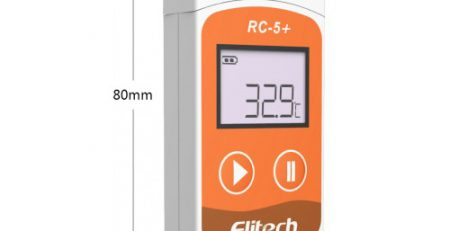 Bộ ghi dữ liệu nhiệt độ, độ ẩm Elitech RC 5+